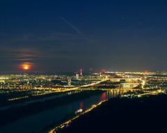 Moonrise over Vienna