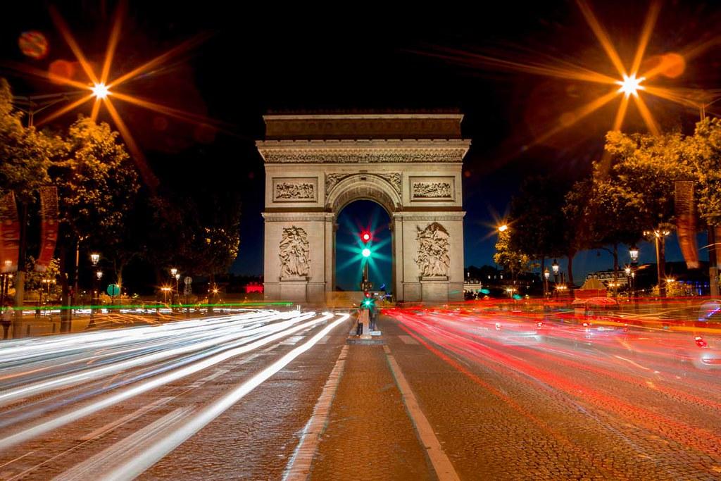 Arc de Triomphe de l'Étoile, Paris, France