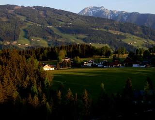 Abend in den Schladminger Tauern - Evening in the Schladminger Tauern