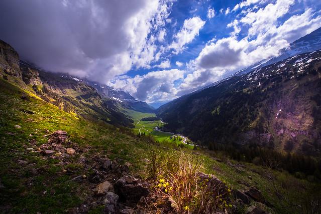 View to Urnerboden - Uri - Switzerland