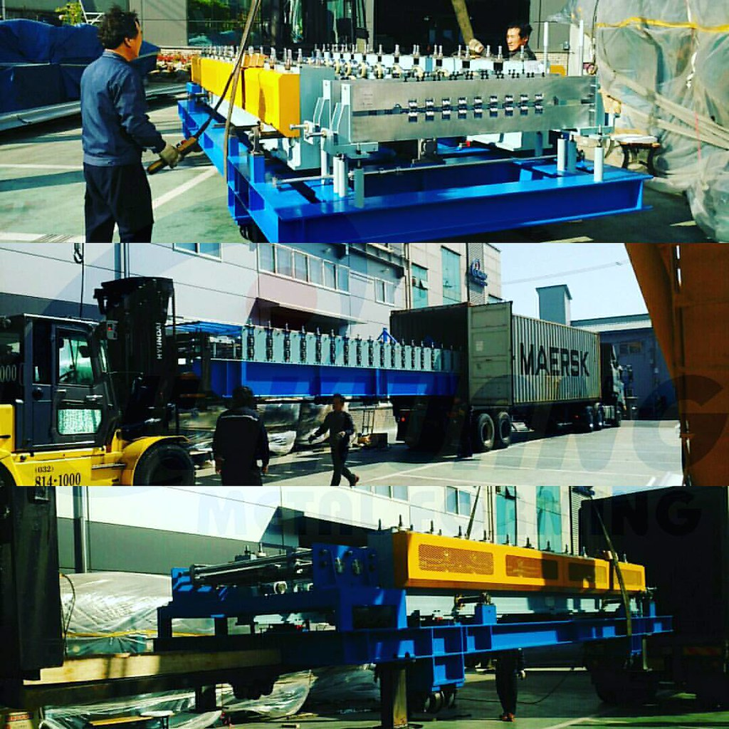 Our new 2017 mineral wool sandwich panel production line i
