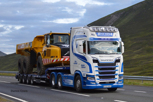 DAYTONA HEAVY HAULAGE SCANIA NEXT GENERATION S730 V8 171 DL 2222
