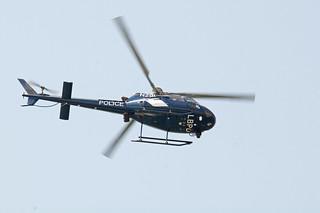 Eurocopter AS-350 Long Beach Police Dept 6454