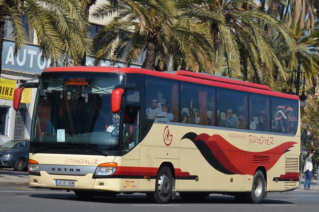 Autobuses Valencia Zaragoza — Elperolo