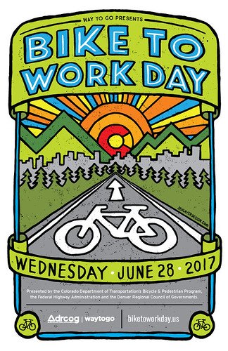 2017 Bike to Work Day poster | by DRCOGorg