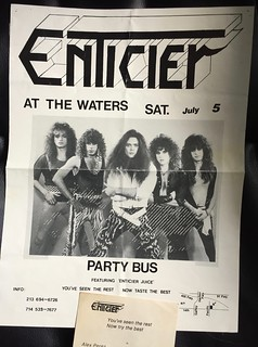 1980s LA Band Flyers | by rocksandyblog