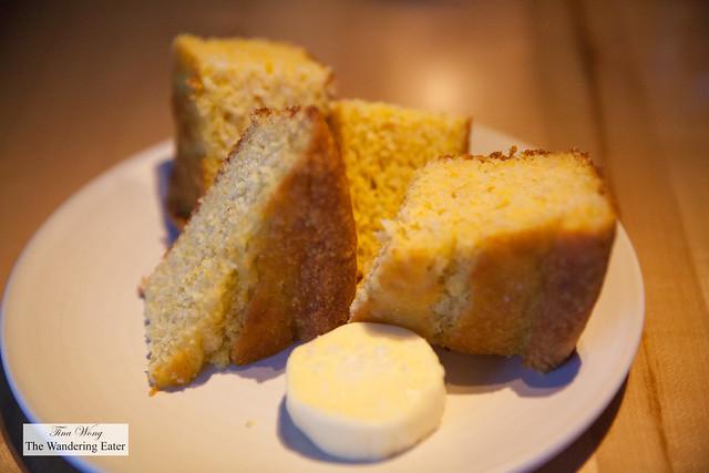 Housemade corn bread
