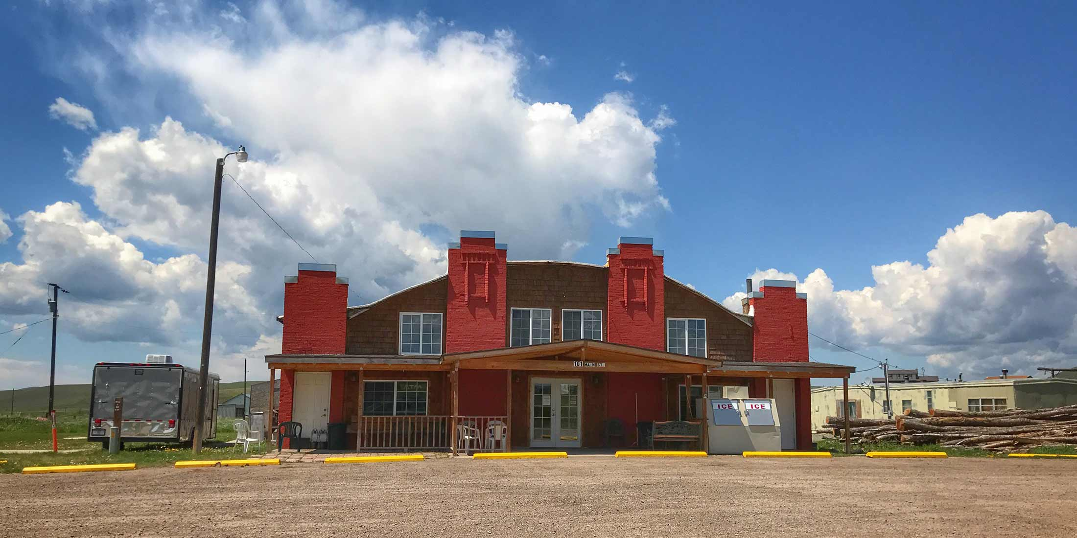 The Ringling Bar is located in Ringling, Montana on Highway 89 in Meagher County.