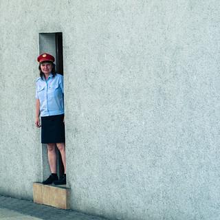 Train Attendant Woman | by nan palmero