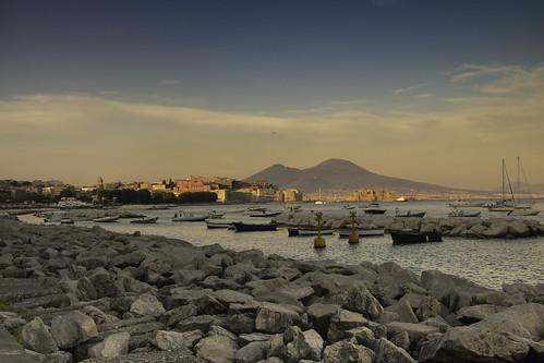 landscape paesaggio panorama napoli naples byday digiorno mare sea boat barca canon canon760d