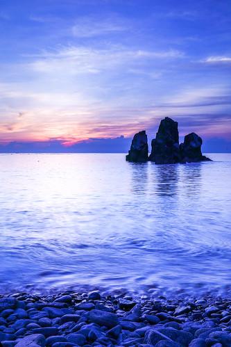 taiwan yilan canon 5d4 2470mm sunrise sea sky