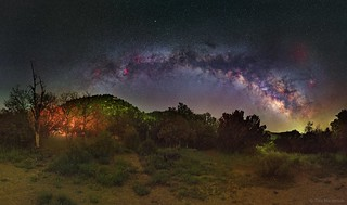 Milky Way over Mesa Verde National Park | by TransientAstronomer