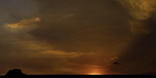 0246937064-89-Smoke Filled Arizona Sunset-2
