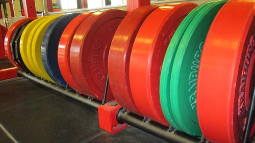 bumper plates   by jwstrength79