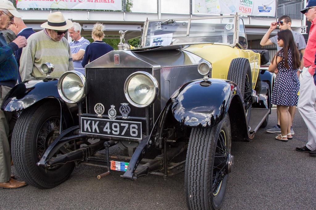 Goodwood Breakfast Club, June 2017 - 1923 Rolls-Royce Silv… | Flickr