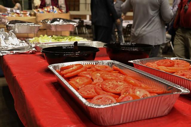 Tomato Sandwich Lunch