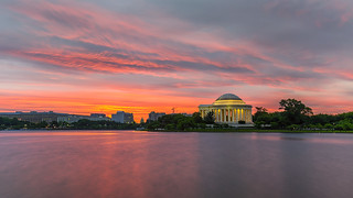 Jefferson Memorial dawn | by lukas schlagenhauf