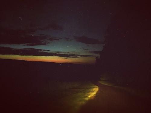 summer twilight moon driveway home landscape sky mextures instagram tadaa
