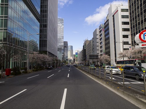The road of the Office Building Tokyo | by publicdomainphotography