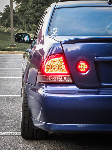 IS300 LED Tail Lights Close | by gold94corolla
