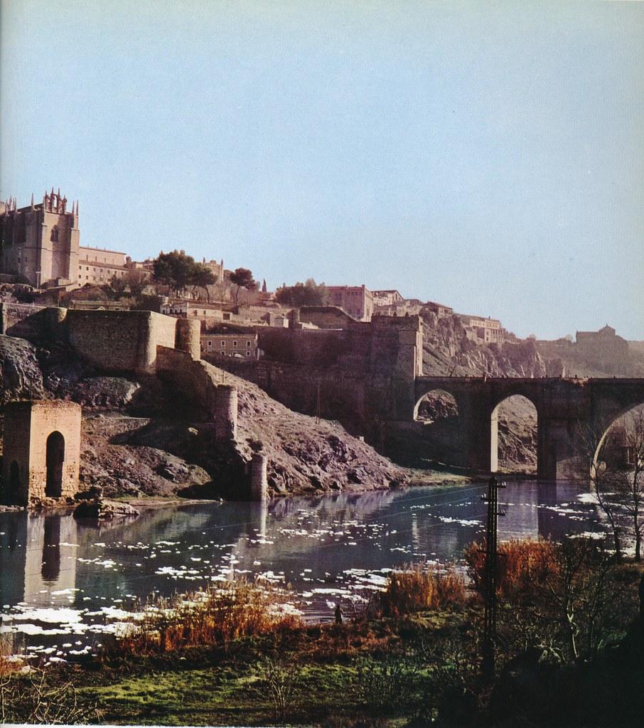 El Tajo en Toledo hacia 1967 por Marc Flament.