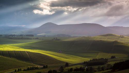 aberdeenshire dunnydeer insch scotland alba garioch sunset unitedkingdom