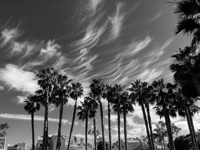 Clouds over UCSB