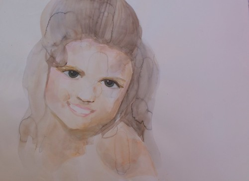 Beauty Pagent | Sold | 2013 | 76x56cm | Watercolour Paper Cold Pressed