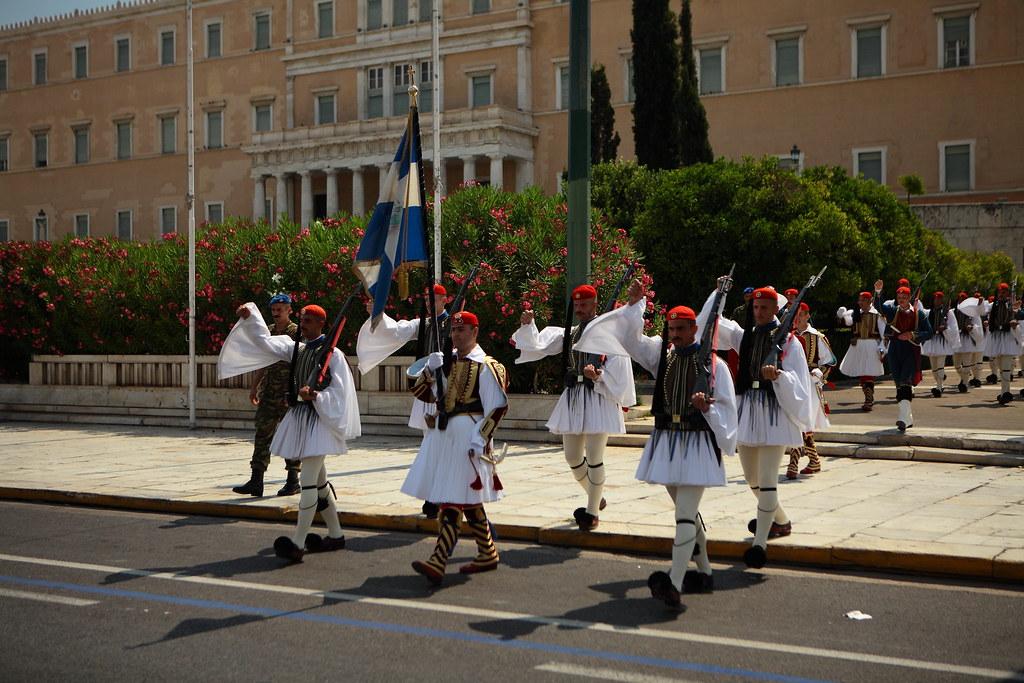 Cambio della guardia di Atene