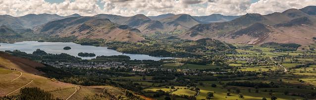 Keswick and Derwent Water - Lake District