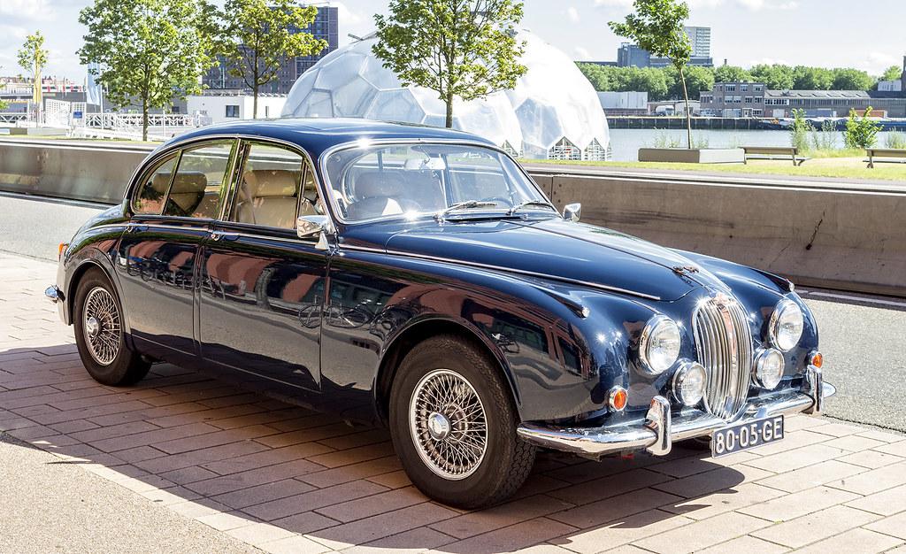 Jaguar 340 | A Jaguar 340 from 1968 in Rotterdam. | R ...