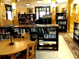 Inside the Kendall Young Library in Webster City Iowa