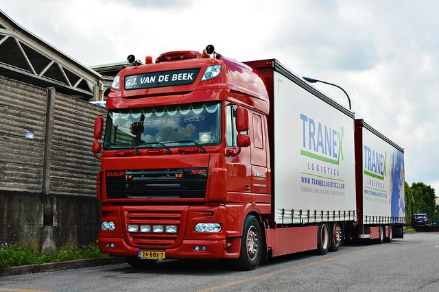 Daf XF105 G.J. Van De Beek Transport NL