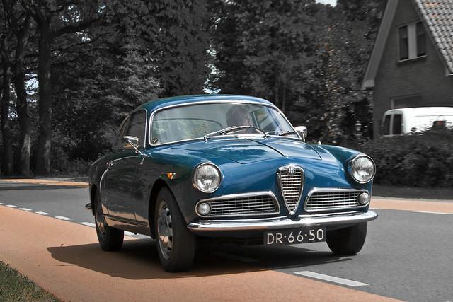 Alfa Romeo Giulietta Sprint Veloce Bertone 1961 (3494)