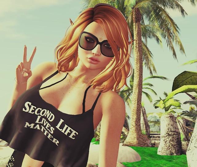 Second Life lives Matter