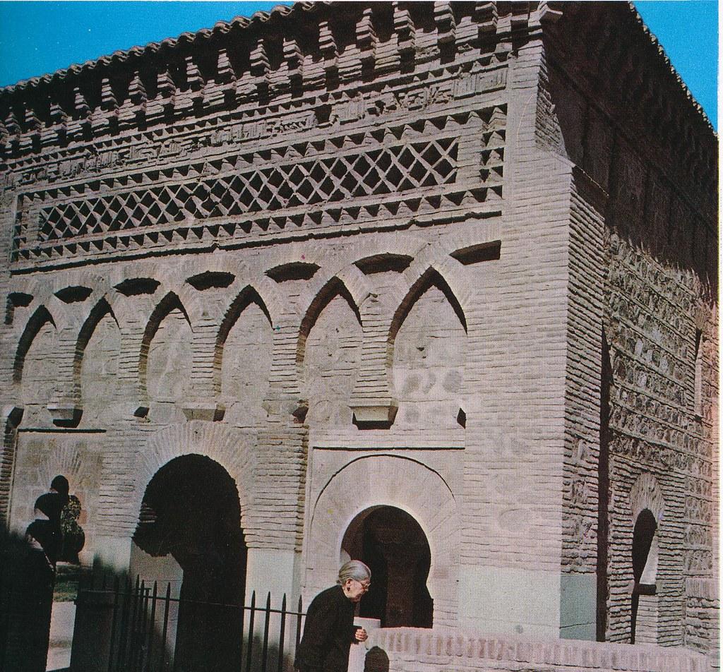 Mezquita del Cristo de la Luz en Toledo hacia 1967 por Marc Flament.