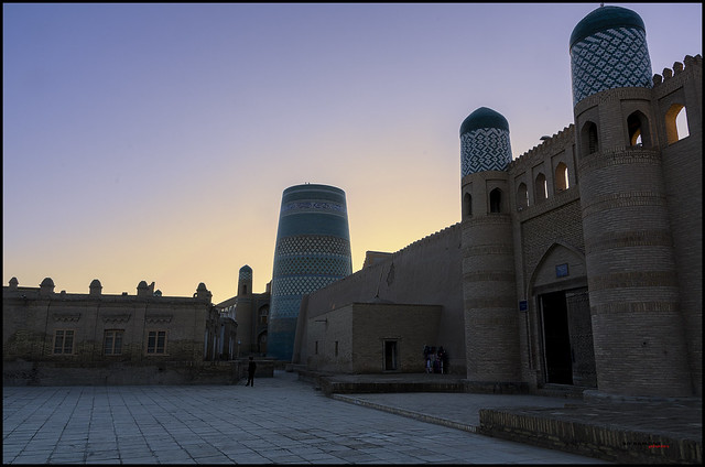 The old city of Khiva