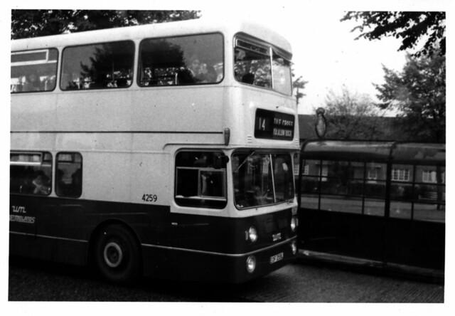 14 bus at Burney Lane