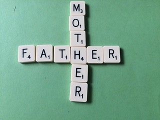 Mother/Father Scrabble | by jeffdjevdet