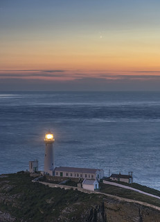 'Venus/Jupiter Conjunction' - South Stack, Anglesey | by Kristofer Williams