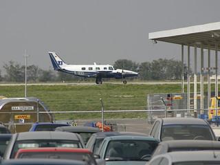 private Piper 31T2 Cheyenne II XL D-IXXX @LEJ/EDDP airport