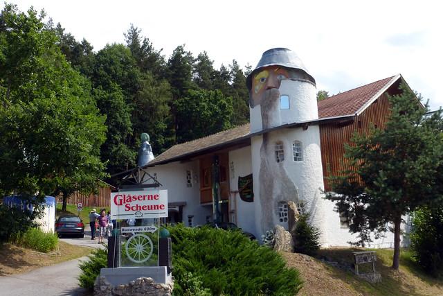 Rudolf Schmid's 'Gläserne Scheune'