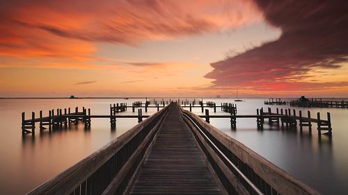 fineart sunrise titusville digital longexposure piers afsnikkor1835mmf3545ged landscapes 2016 nikond750 jaspcphotography florida