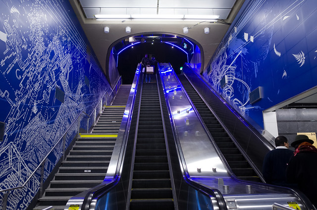 opening day, 96 street station, second avenue subway