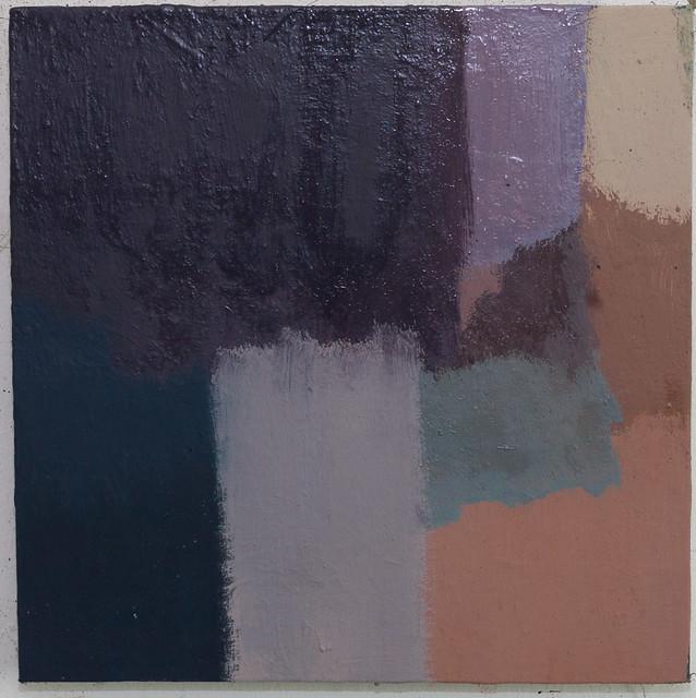 Corresponding L54 25 x 25 cm,Öl,Eitempera/Pigmente2017