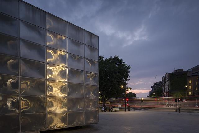 Michael Faraday Memorial _ Elephant & Castle _ London