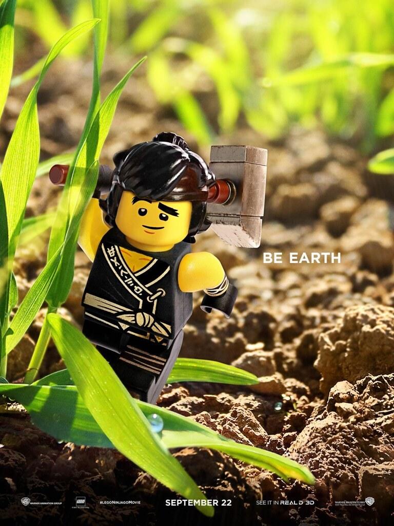 Lego Ninjago Movie Cole Poster Cole The Earth Ninja A Ni Flickr