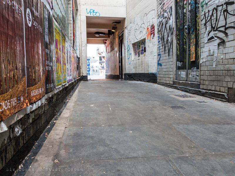 Alleyway in Soho, London