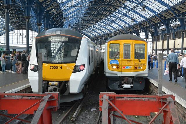 Thameslink Class 319, 319425 & Class 700, 700014