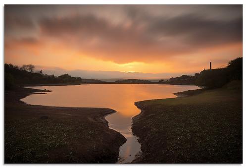 leeming leemingreservoir reservoir water sunset yorkshire d600 2017 ngc nikonfxshowcase nikkor1635mmf4 nikkor bradford